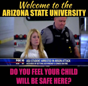 Arizona State University Police Department management 000