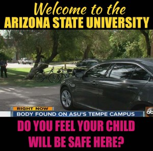 Arizona State University Police Department management 000000000