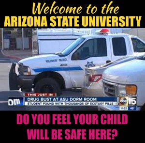 Arizona State University Police Department management 00000000000000