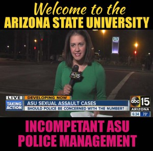 Arizona State University Police Department management 2