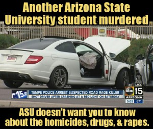 Arizona state University student murdered clery