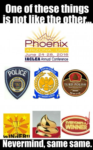Iaclea 2016 conference Arizona state university police