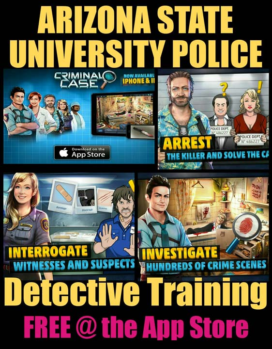 ARIZONA STATE UNIVERSITY POLICE: Detectives Special ...