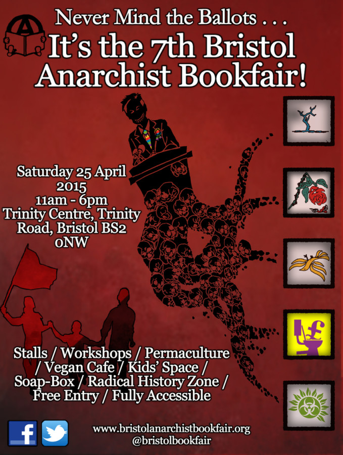 We're doing a stall this year for literature and a small stock from Freedom Books.